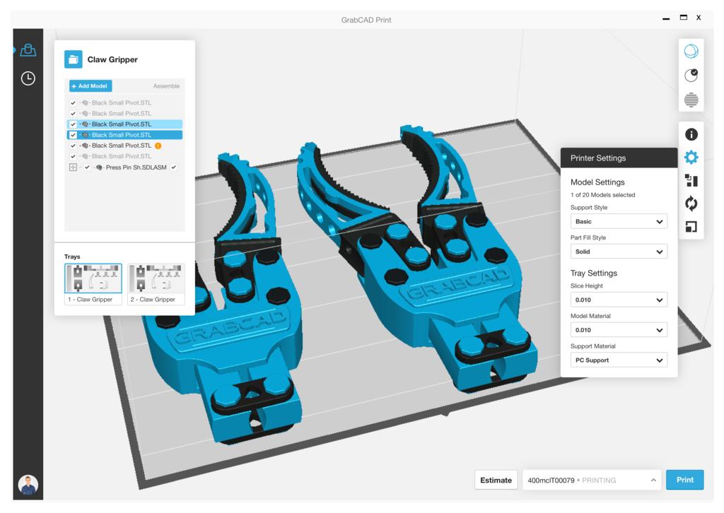 Программное обеспечение Stratasys GrabCAD Print — купить в