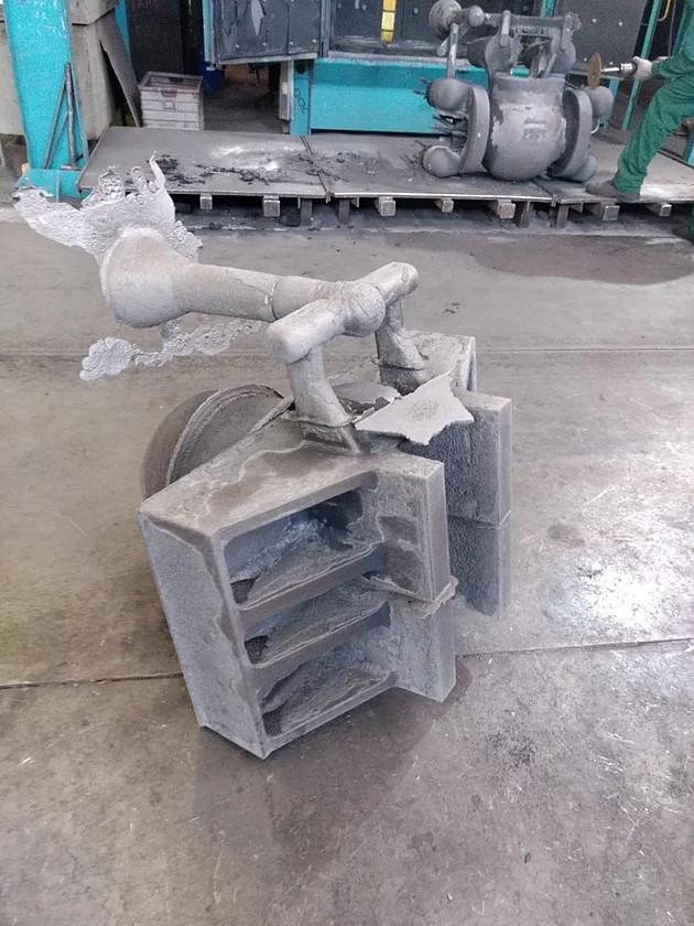 Серия форм для отливок из жаропрочной стали