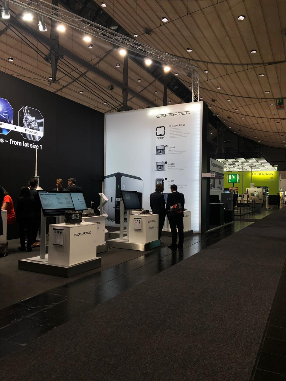 Gefertec на выставке EMO 2019